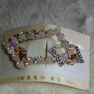 Accessories - Pearly Chinese Style Hair Clip